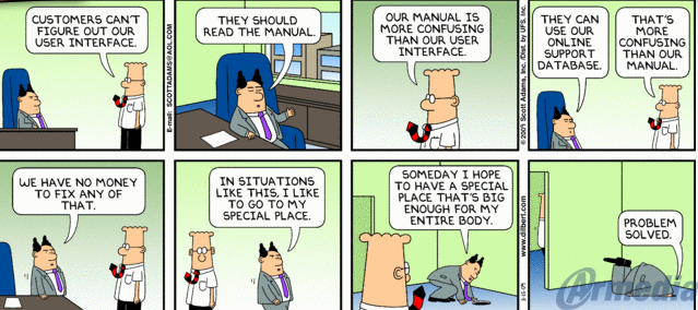 Dilbert on User Interface Needs