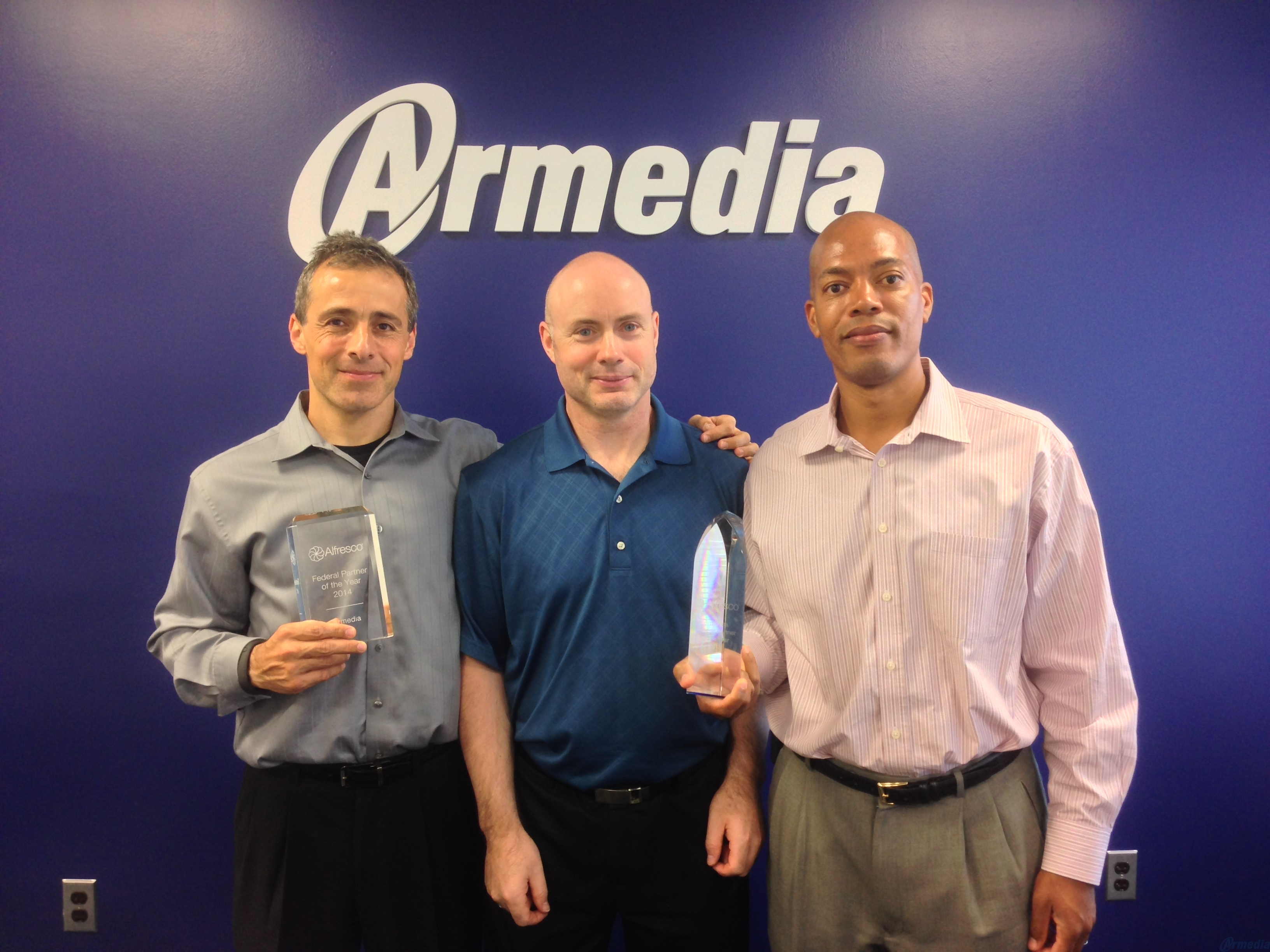 Armedia Named Alfresco's 2015 Federal Partner of the Year