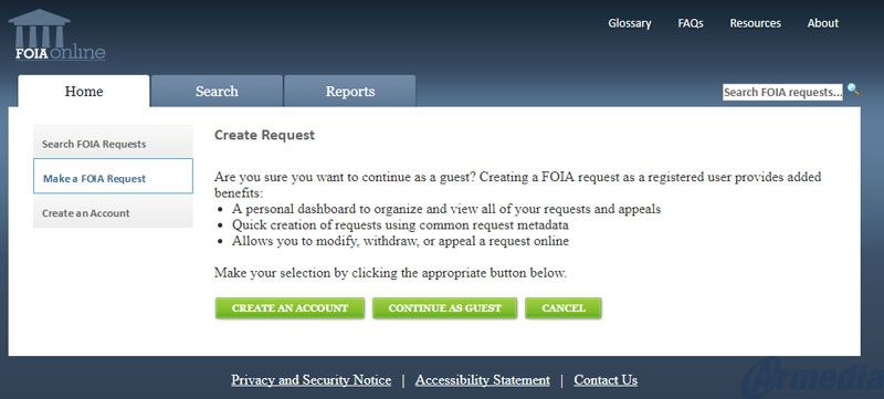FOIA Principle 3: Acknowledge And Track FOIA Request Promptly Using Armedia's Module