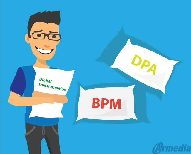 Embracing Digital Transformation – Moving From BPM To Digital Process Automation