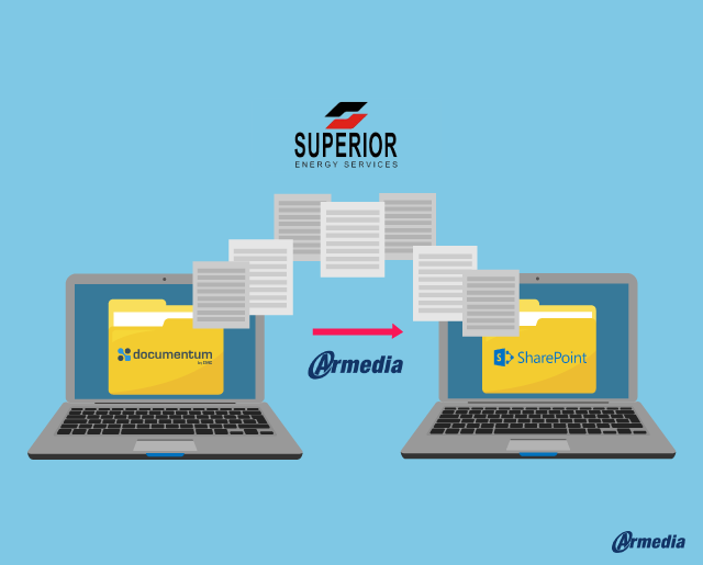 Armedia Helps Superior Energy's Migration From Documentum To SharePoint