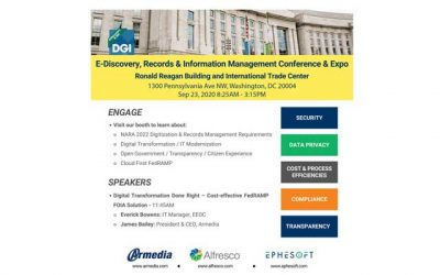 E-Discovery, Records and Information Management Conference and Expo 2020