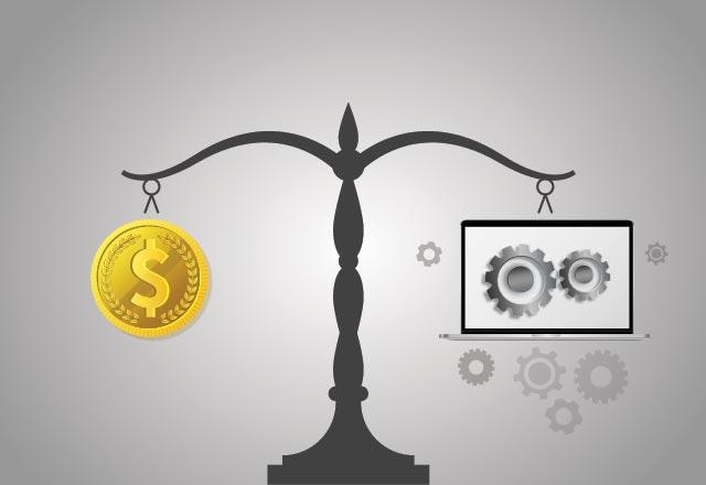 money vs tech